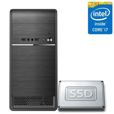 Imagem de Computador Desktop Intel Core i7 16GB SSD 480GB CorPC Fast