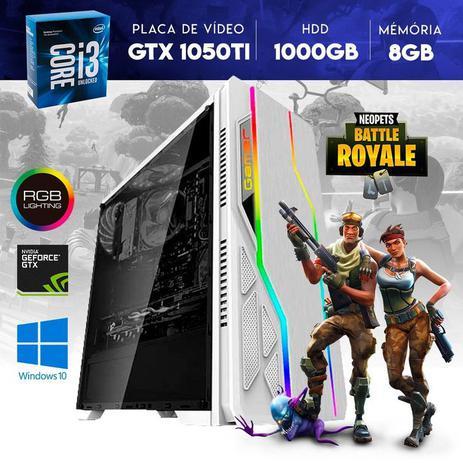 Imagem de Computador Gamer Core i3 1000GB HDD/8GB RAM GTX 1050 Ti 4GB 128 Bits YessTech Power