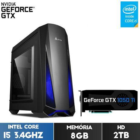 Imagem de Computador Gamer Fox PC FPS Intel Core i5 8GB (GeForce GTX 1050Ti 4GB GDDR5) HD 2TB