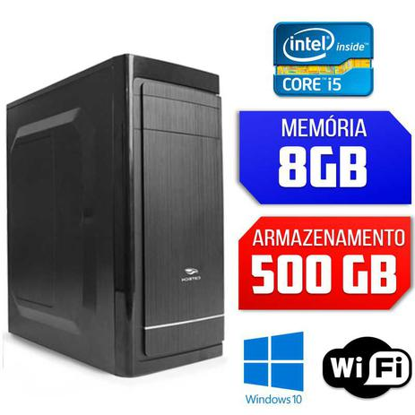 Imagem de Computador Intel Core i5, 8GB Ram, 500GB HD , Wifi, Windows 10
