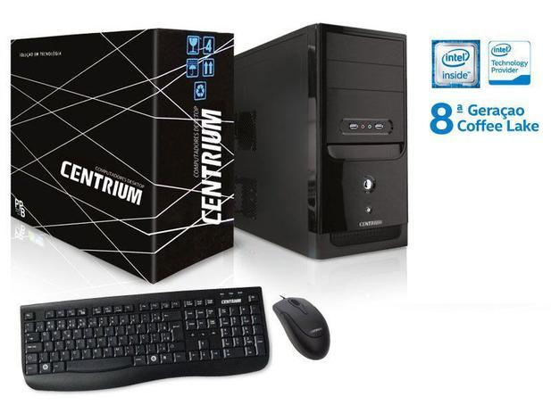 Imagem de Computador INTEL Windows Centrium Thintop 4900 INTEL Dual Core G4900 3.1GHZ 4GB DDR4 500GB WIN10