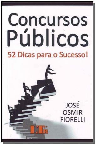 Imagem de Concursos Publicos: 52 Dicas para Sucesso