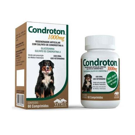 Imagem de Condroton Regenerador Articular Vetnil Comprimidos 1000mg