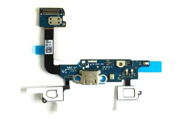 d02b1afa4b1 Conector Carga com Flex Alpha G850 G850M - Samsung - Peças para ...