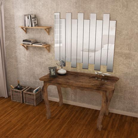 Imagem de Conjunto Aparador Retro Com Painel De Espelhos Canela