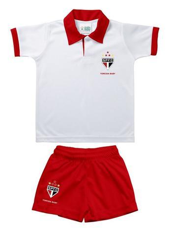 2605e14e9 Conjunto Bebê São Paulo Polo Oficial - Torcida Baby - - - Magazine Luiza