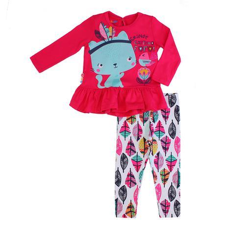 103c5d7cbd Conjunto Blusa e Calça Zig Zig Zaa Estampado - Conjunto de roupa de ...