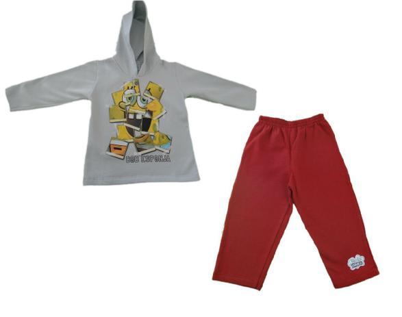 2e884d8459 Conjunto Bob Esponja - CInza - Tam 2 - Kamylus - Camiseta e Blusa ...