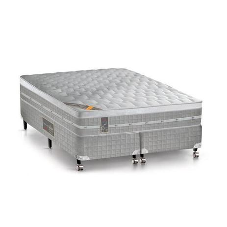 Imagem de Conjunto Castor Premium Gel Pocket King 193x203x32 + Box Castor