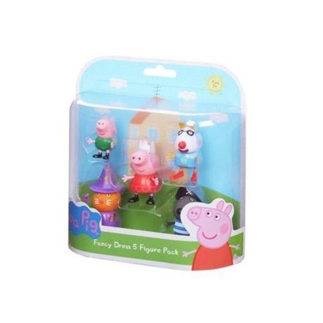 Imagem de Conjunto Com 5 Figuras Amigos Da Peppa Pig - DTC