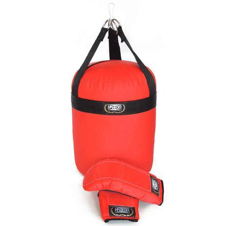 d2837a734 Conjunto de Boxe - Junior - Saco de Pancada 60 Cm e Luvas Bate-Soco - Punch