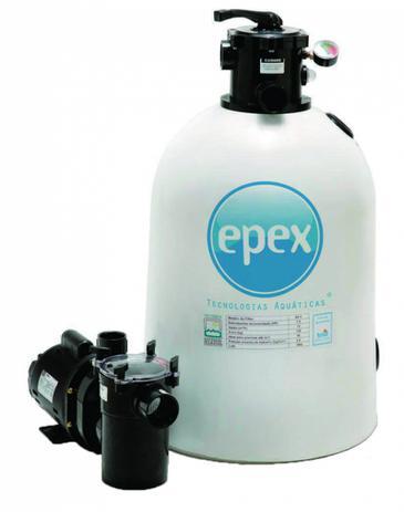 Imagem de conjunto de filtração para piscinas - 5.000 litros hora