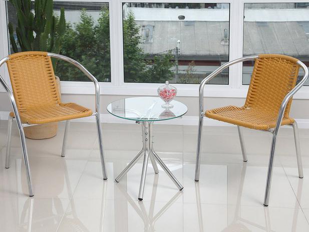 Imagem de Conjunto de Mesa para Jardim com 2 Cadeiras