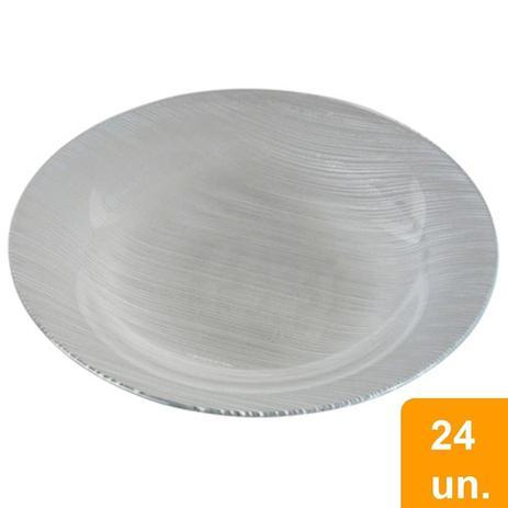 Imagem de Conjunto de Pratos Fundos Diamante 24 Peças - Duralex