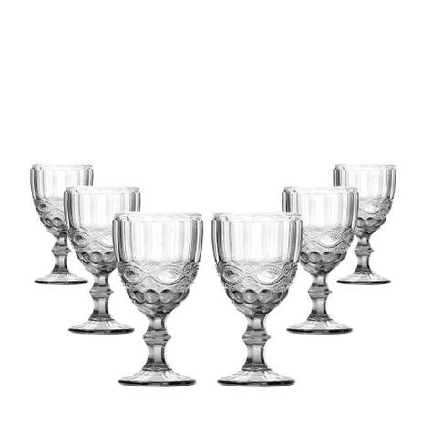 Imagem de Conjunto de Taças para Água Elegance Clear 6 Peças 260ml Class Home