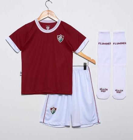 9ca330f19def6 Conjunto Infantil Fluminense Uniforme Artilheiro Oficial - Revedor ...