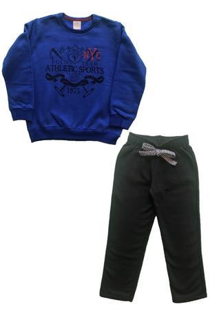 Conjunto Infantil Masculino - Moletom Infantil - Casaco e Calça - Carinhoso  - Samba Lelê Moda Kids b51ef437875