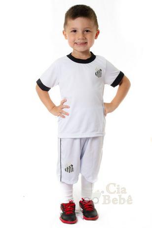 bb6a8c2a8e0ac Conjunto Infantil Santos Uniforme Artilheiro Oficial - Revedor ...