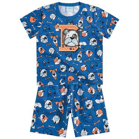 df90d4d6b8 Conjunto Pijama Menino Meu Melhor Amigo Azul - Kyly - Pijama ...
