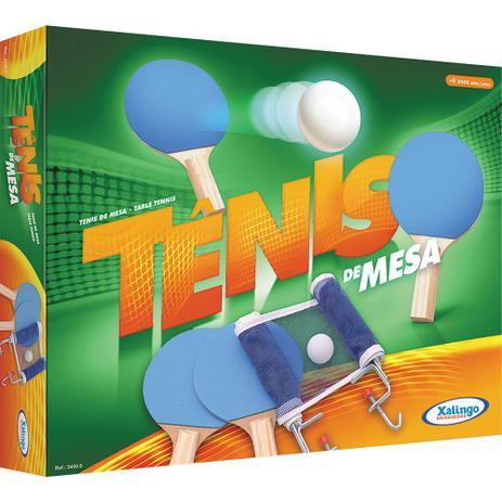 Conjunto Tênis de Mesa 5450.9 Xalingo - Ping Pong - Magazine Luiza a2df7dba30613
