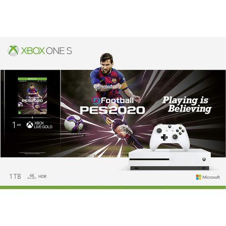 Imagem de Console Microsoft Xbox One S 1TB + PES 2020