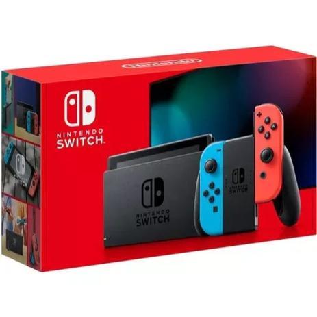 Imagem de Console Nintendo Switch 32gb Neon Azul e Vermelho - Nintendo
