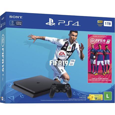 Imagem de Console PlayStation 4 1TB Bundle + Game Fifa 19 - Sony