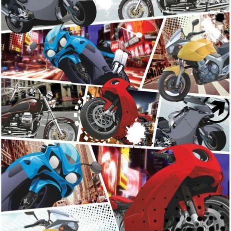 Imagem de Contact Decorado 45CMX10M Motos Rolo Vulcan