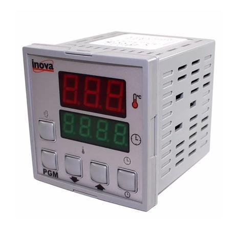 Imagem de Controlador de Temperatura Digital INV-20301-J 24V 24VCA/VCC Inova