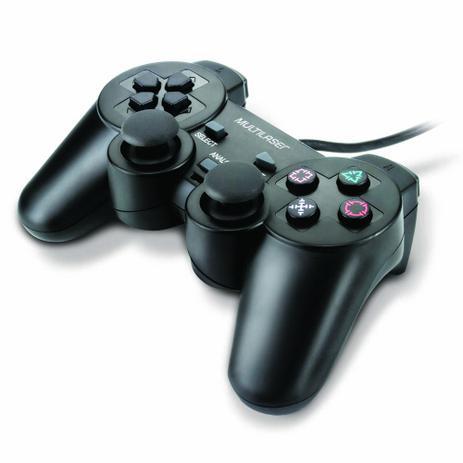 Imagem de Controle 3 em 1 Multilaser JS071 para PS3, PS2 e PC