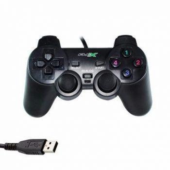 Imagem de Controle Analógico Dualshock USB Game PC FX-JOYUSB - Flex