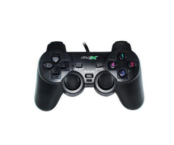 Imagem de Controle Analógico Dualshock USB Game PC FX-JOYUSB - FlexGold