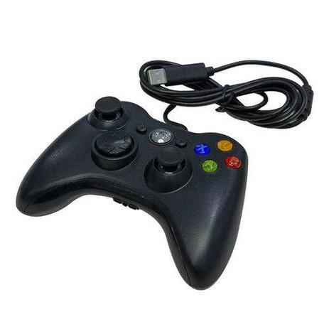 Imagem de Controle com fio Xbox USB Preto -