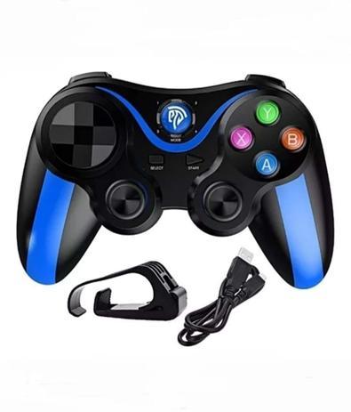 Imagem de Controle Para Celular Gamepad Joystick Para Jogo Bluetooth Android Ios