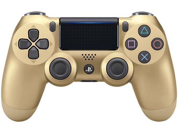 Controle para PS4 Sem Fio Sony - Dourado