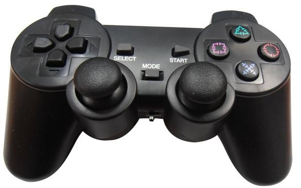 Imagem de Controle PC + Adaptador USB Jogar  Ps2 e Ps3