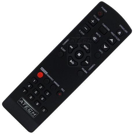 Imagem de Controle Remoto Aparelho de Som LG AKB72956202 / MCD605 / MCT705 / MCV905