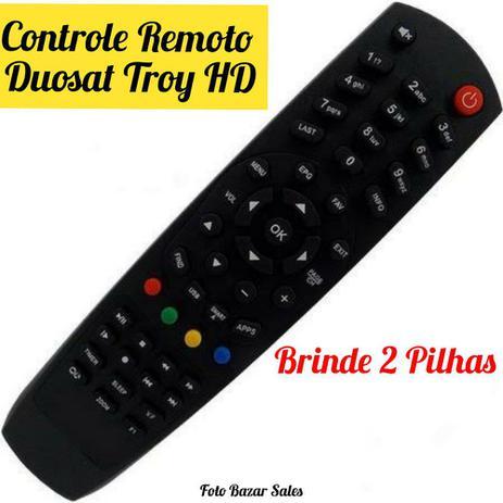 Imagem de Controle Remoto Duosat Troy HD