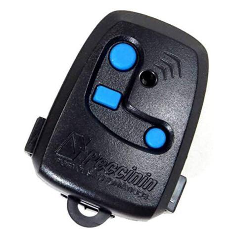 Imagem de Controle remoto p/ portão eletrônico 3c 433,92 mhz PT c/bateria inclusa Peccinin
