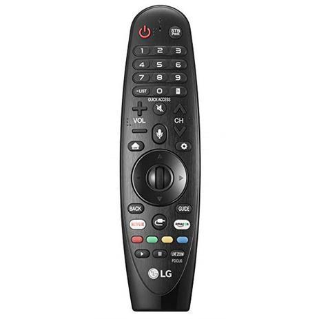 Imagem de Controle remoto Smart TV 4K LED 55 LG 55UK6540 AN-MR18BA