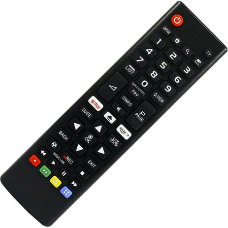 Imagem de Controle Remoto Tv Led Lg Smart Tv AKB75095315 Amazon/Netflix