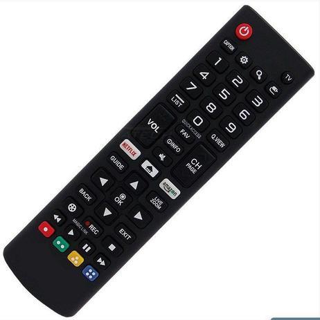 Imagem de Controle Remoto TV LG Smart AKB75095315 com Netflix e Amazon LE-7045
