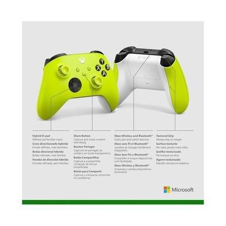 Imagem de Controle Sem Fio Xbox Eletric Volt  MICROSOFT