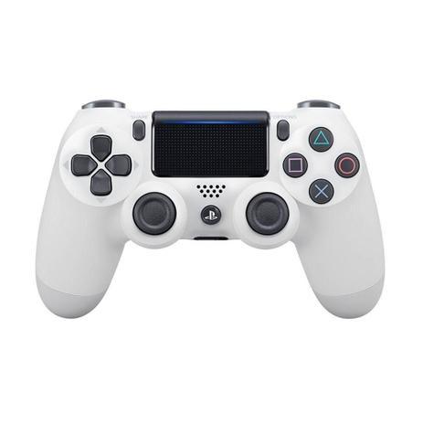 Imagem de Controle Sony Dualshock 4 Branco sem fio (Com led frontal) - PS4