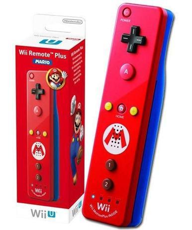 Imagem de Controle Wii Wii U Remote Plus Mario