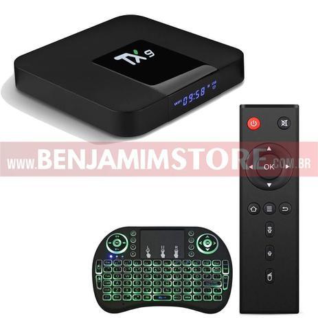 Imagem de Conversor Smart Tv TX9 2 Gb de Ram 16 Gb de Room + Teclado Led
