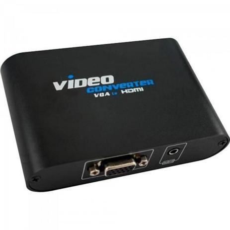 Imagem de Conversor VGA para HDMI Video Converter Preto PIX