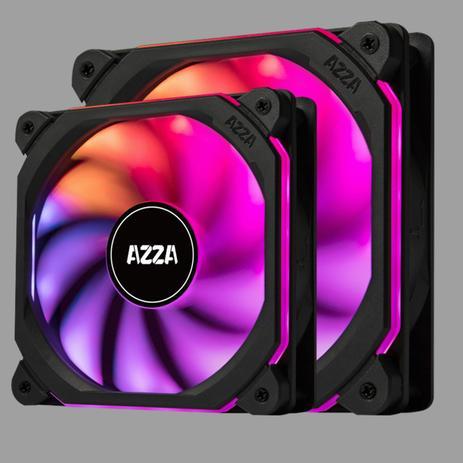 Imagem de Cooler fan prisma digital rgb fan 120mm azza