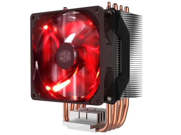 Imagem de Cooler para Processador Intel AMD LED Vermelho