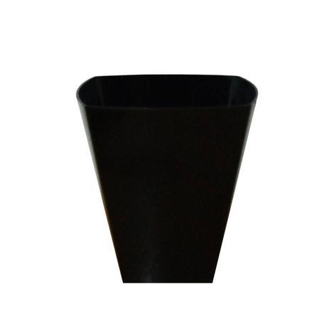 Imagem de Copinho Plástico para Brigadeiro Preto 10 unidades Plastilânia